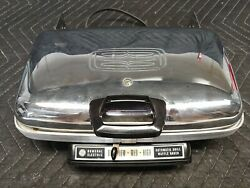 Vintage General Electric Ge Automatic Grill Rectangular Waffle Iron Baker 14g44