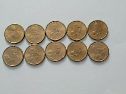 10 Coins 2000 P Sacagawea Dollar Us Mint Coin In Brilliant Uncirculated