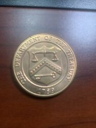Us Mint Denver Colorado The Department Of The Treasury 1789 Coin 38mm 3