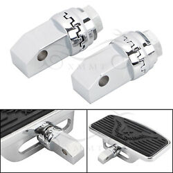 Motorcycle Chrome Floorboards Adapters For Honda Shadow Ace 750 Vt750cd Deluxe