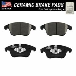 Front Ceramic Brake Pads For 2013 -2018 2019 2020 Ford Fusion Lincoln Mkz