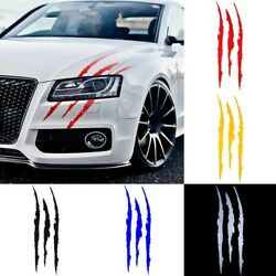 Monster Energy Car Auto Reflective Headlight Stickers Scratch Claw Vinyl Decals