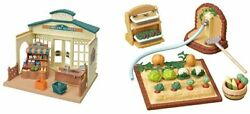F/s Sylvanian Families Forest Market And Vegetable Making Set