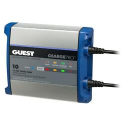 Guest On-board Battery Charger 10a / 12v - 1 Bank - 120v Input [2710a]