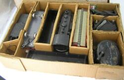 Vintage Louis Marx Co Stream Line Steam Electrical Train Set In Box-6 Car-more