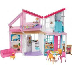 Barbie Estate Malibu House Playset With 25 Plus Themed Accessories 3 Years Up
