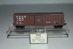 N Scale Mtl 30160 Seattle And North Coast 50' Double Door Boxcar 1052 C21727