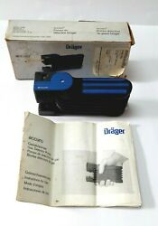 Drager Accuro 6400000 Manual Multi Gas Detector Industrial Labs Test Tube Pump