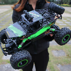 1/12 4wd Rc Monster Truck Car Electric Off-road Vehicle Remote Control Toy Gift
