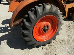 Unstyled Ac Wc Tractor 11.2 X 24 99 Tread Tires On Allis Chalmers Rims