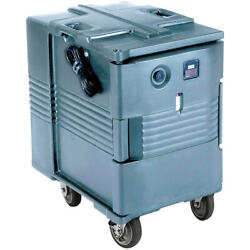 Cambro Electric Hot Box, Food Carrier W/ Wheels, 110v Slate Blue Upchw400-401