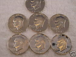 1971-s Eisenhower 40 Silver Dollar Proof Roll Of 20