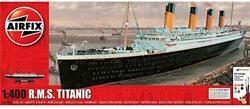 Airfix Rms Titanic 1400 Passenger Ship Plastic Model Gift Set With Paint And ...
