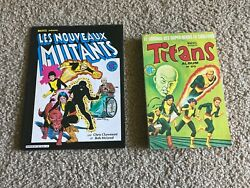 New Mutants 1 Marvel Graphic Novel 4 French Editions 2 Books