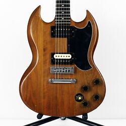 1979 Gibson The Sg Vintage American Standard Natural Brown W/ Hardshell Case