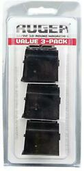 Ruger Bx-1 Magazine 3-pack For Model 10/22 .22 Long Rifle 10 Rounds