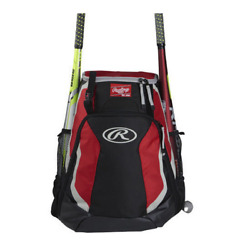 Rawlings Players Team Equipment Backpack R500 Color Scarlet