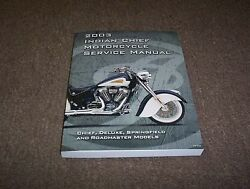 2003 Indian Chief Motorcycle Factory Shop Service Repair Manual