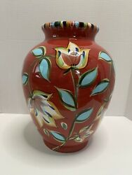 A Southern Living At Home Urn/vase From Gail Pittman'sbountiful Collection New