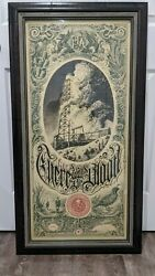 Custom Framed Aaron Horkey There Will Be Blood Variant Mondo Print Sold Out S/n