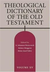 Theological Dictionary Of The Old Testament By Eerdmans Publishing
