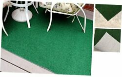 Artificial Grass Indoor/outdoor Area Rug Rectangle 4and039 X 6and039 Green