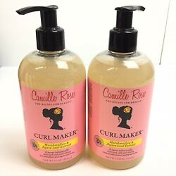 2camille Rose Naturals Curl Maker, 12 Oz Marshmallow And Agave Extract. R522