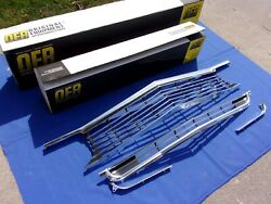 New 1966 Impala And Full Size Front Upper And Lower Grill W/ Ext Oer Gm Licensed Lot