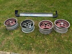 5 Range Rover County Classic Oem Land Rover 1st Generation 16x7 Alloy Wheels
