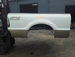 Pop527gg Ford F250 Short Bed Box Oxford White Rust Free 1999 - 2010