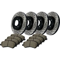 935.65040 Stoptech New 4-wheel Set Front And Rear For F150 Truck Ford F-150 04-08