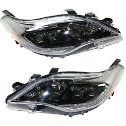 Headlight For 2016-2018 Toyota Avalon Driver And Passenger Side