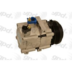 6512268 Gpd New A/c Ac Compressor For Explorer With Clutch Ford Lincoln Town Car