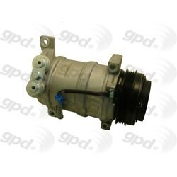 6511396 Gpd New A/c Ac Compressor For Chevy Avalanche Suburban Yukon With Clutch