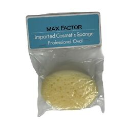 Max Factor Cosmetic Sponge Makeup Professional Imported New In Package Vintage