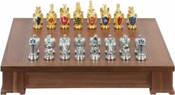 Franklin Mint,chess The Royal Houses Of Britain Heraldic ,not Used,practical New