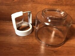 Cuisinart Ice-21 Ice Cream Maker Dome Lid 1.5 Qt Top And Paddle Replacement