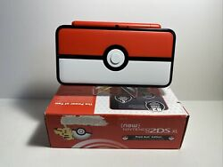Nintendo 2ds Xl Pokeball Edition Handheld Console Mint Condition