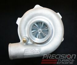 Precision Turbo Gen1 5558 Journal Bearing E Cover W/ T3 V-band In/out .64 A/r