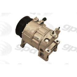 6512479 Gpd New A/c Ac Compressor With Clutch For Nissan Altima Pathfinder 17-19