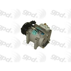 6511487 Gpd New A/c Ac Compressor With Clutch For Jaguar S-type Ford Thunderbird