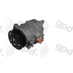 6513192 Gpd New A/c Ac Compressor With Clutch For Chrysler 300 Dodge Charger