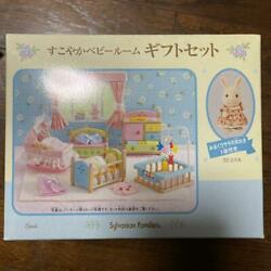 Sylvanian Families Calico Critters Healthy Baby Room Gift Set Vintage Rare