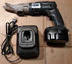 Kett Kb-392 Cordless Fiber Cement Siding Shear, With Battery And Charger.