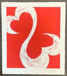 Jane Seymour - Limited Ed Serigraph Open Heart 24 X 24 Coa Hand Sign And Nbr