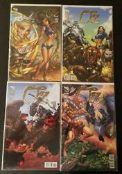 Grimm Fairy Tales Oz 1 2 3 4 With Campbell Variant Zenescope Rare Nm Hot