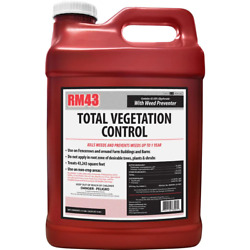Rm43 Total Vegetation Control Weed Killer 2.5 Gallon Concentrate