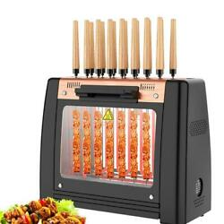 Electric Bbq Grill Rotisserie Oven Grill Smokeless Automatic Rotation Machine