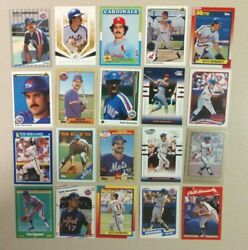 20 Card Lot Of Different Keith Hernandez A Must Have For Any Collector Free Sandh