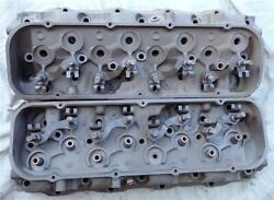 Big Block Chevy Large Oval Port Heads 3931063 69 396 325hp 350hp 427 390hp 400hp